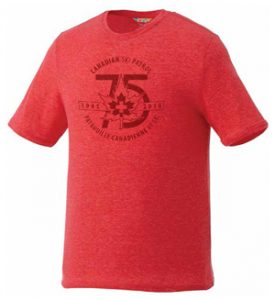 Men's & Ladies Short Sleeve T-Shirt The Sarek Short Sleeve Tee features a crew neck, self-fabric collar and chainstitch detail. $28.80