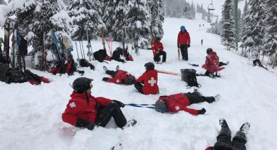 Mountain Division First Aid and On Snow Training Seminar (aka Competition) a success