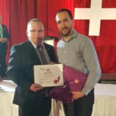 Lifesaving Award – Alexandre Desemery