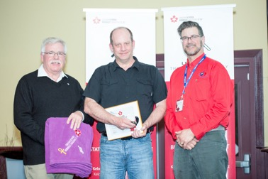 Lifesaving Award – Carey Rowntree (Southern Alberta Zone)
